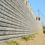 Végeláthatatlan, hosszú kerítés